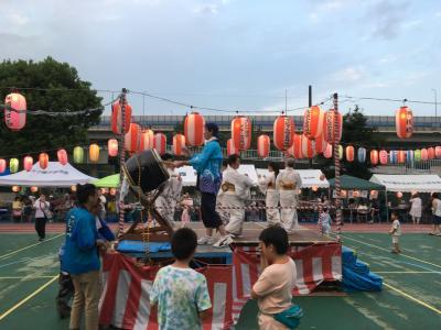 今年も合同夏祭りに行きました。