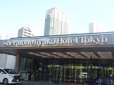 2019.8 シェラトン都ホテル東京 のラウンジでまったり