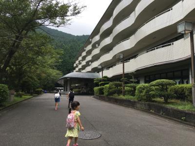 夏休み 四世代旅行 三年ぶりの森の温泉ホテル