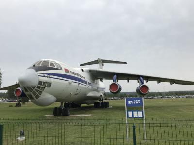 シベリアから中央アジアを廻ってミンスク、キエフへ=2019年8月④(ミンスク街歩きと旧ソ連航空機)