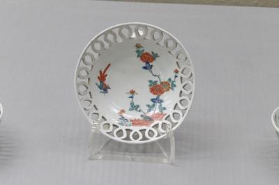 透かし彫りの陶器