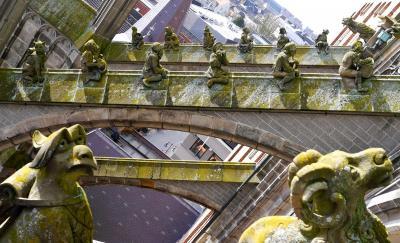 オランダ デンボス訪問記-聖ヤン大聖堂 / 驚愕の聖ヤン大聖堂の怪物たち