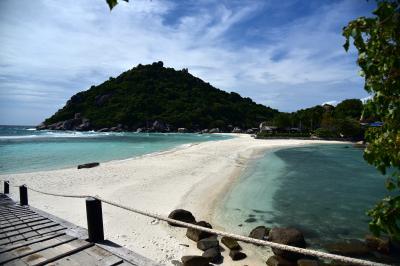 タイの離島冒険ツアー タオのナンユアン島でシュノーケリング三昧を!
