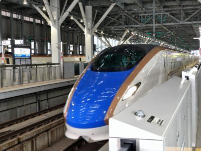 2019年8月群馬鉄道旅行1(北陸新幹線で高崎駅へ)