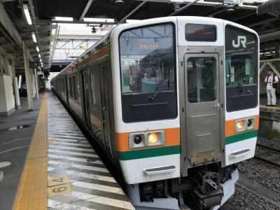 2019年8月群馬鉄道旅行2(信越線高崎-横川)