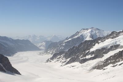 スイス、ユングフラウヨッホとマッターホルンの旅①