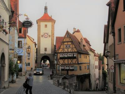 ドイツ周遊の旅 ⑬  おとぎの国「ローテンブルク」の街歩き