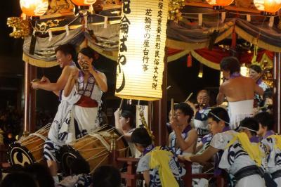 岩手から秋田への内陸部夏祭り旅(三・四日目)~花輪ばやしは駅前行事から深夜の朝詰めまで。熱いリズムにホッホッホーの掛け声が一体感の源です~