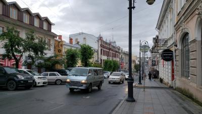 2日目は早起き…(前半)ウラジオストク