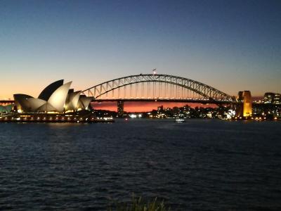 冬のオーストラリア周遊旅その2 オペラハウスの撮影スポット巡り