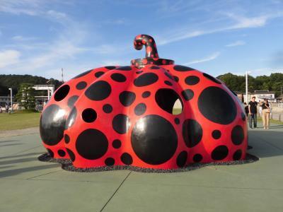 2019夏 18きっぷの旅2-3:瀬戸内国際芸術祭 犬島から豊島経由でアートな島、直島へ