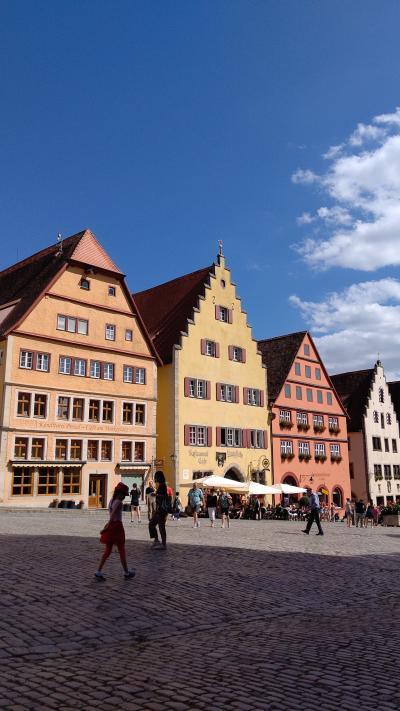 念願のヨーロッパ!ドイツ編②ローデンブルグ&ヴェルツブルグ 可愛らしい中世の街並み