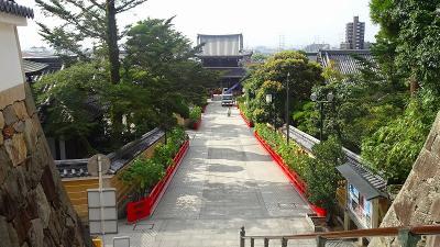 中山寺参拝 久しぶりに朝の散歩で中山寺に参拝してきました その2。