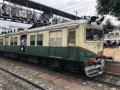 初インド1日目 ~東京~バンコク~コルカタの吊り掛け電車に乗る~