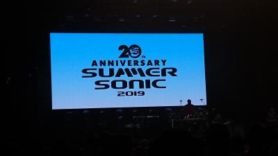 Summer Sonic Osaka 2019 覚書
