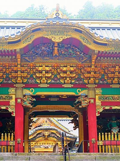 日光11 輪王寺大猷院c 夜叉門 -霊廟の守り神- ☆鼓楼・鐘楼も世界遺産/重要文化財