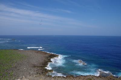 自由行動前半戦 残波岬灯台~地元のスーパー、サンエー大湾シティへ@蒸し暑い沖縄に連行される その3
