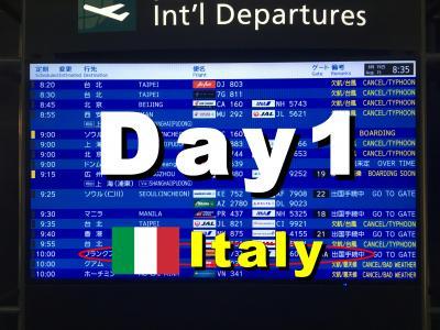 Bon Voyage!  イタリア満喫8日間の旅  2019夏 ~1日目~「ヴェネチア到着」