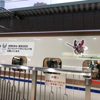東京日帰り ~北陸新幹線2020オリンピック・ラッピング車両~