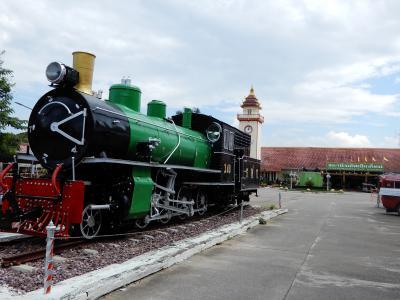 泰緬鉄道の旅を終えて古都チェンマイへ/レンタルバイクで寺院巡り② ちょっとチェンマイ駅に寄り道