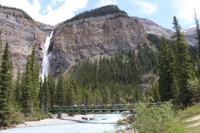 初夏のカナディアン・ロッキー2019 Day3-5(壮大な滝・Takakkaw Falls)