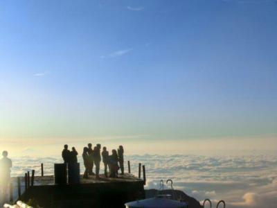 雲海艇に乗って燕岳~大天井岳