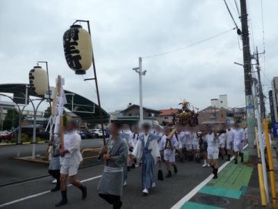 埼玉・熊谷うちわ祭の初日の神輿巡幸2019
