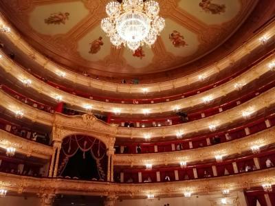 ロシア一人旅~3日目、セルギエフ・ポサード、プーシキン美術館、ボリショイ劇場~