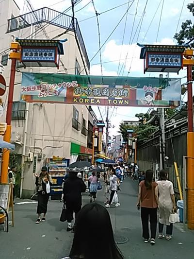 コリアな大阪を中心に巡って来ました。