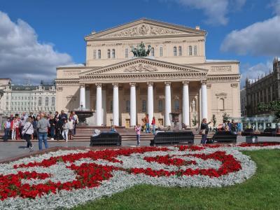モスクワひとり旅 2019 その7 ボリショイ劇場周辺観光と帰国