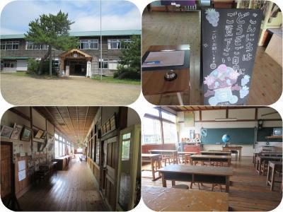 真夏の東北三県巡り(20)津軽平野の築80年以上の木造校舎を保存した鶴田町歴史文化伝承館