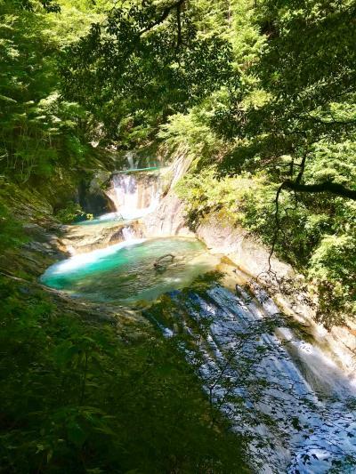 美しい西沢渓谷を眺めに