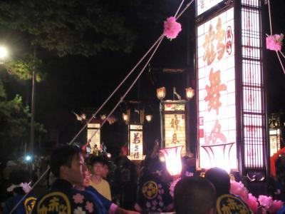 雨の金沢、熱狂のキリコ祭り  2日目