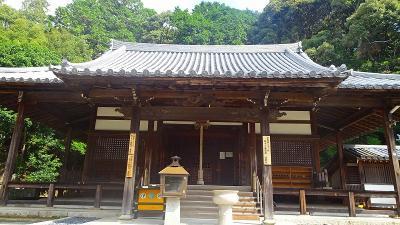 宝の湯を経由して、川西市の満願寺を参拝。