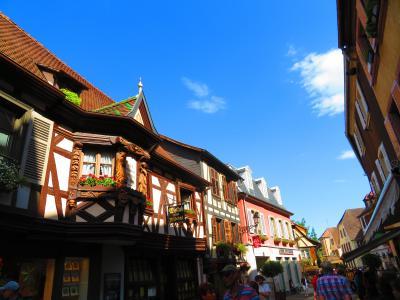 スイス&アルザス旅☆6 フランスの最も美しい村へ
