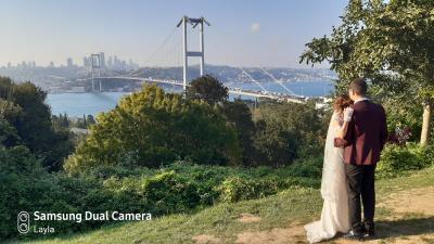 ボスフォラス大橋3本セットで見える丘
