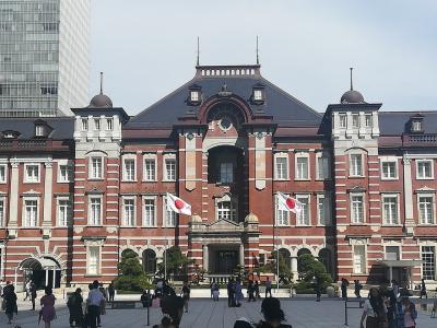 東京駅 皇居