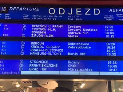 10:32 プラハ発ベルリン行き~消えた車両 256号車の謎