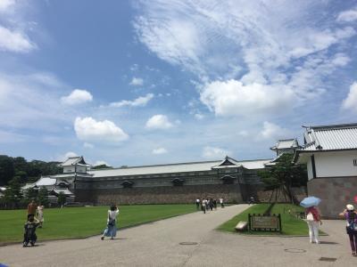 中部地方4県 家族旅行 ④金沢