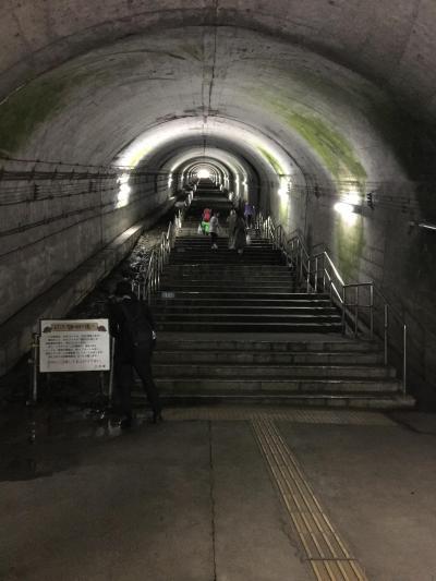 ようこそ 日本一のモグラ駅へ 谷川岳トレッキングの旅①