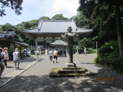 四国霊場・高知篇(6)第二十六番金剛頂寺に参詣。
