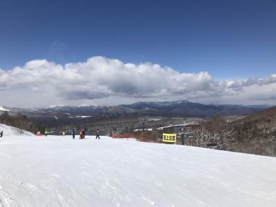2019.3月 卒業旅行のスキー(わんわんパラダイス)