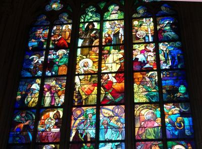 2018 三たびで最後のシニア三人旅☆プラハ城探訪 ヴィート大聖堂・前オバマ大統領の「プラハ演説」