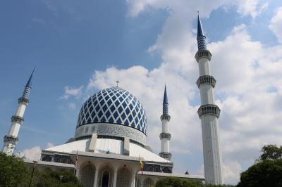マレーシアドライブ旅行+シンガポール・ビンタン島&サンフランシスコ16日間 7日目 ショッピング&ブルーモスク