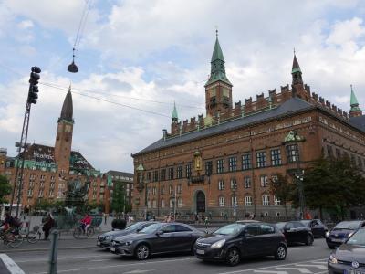 2019夏の北欧その1~コペンハーゲン前半・市庁舎周辺を散策