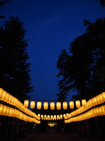 多田神社の萬燈会