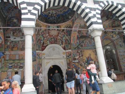 リラの僧院を観光