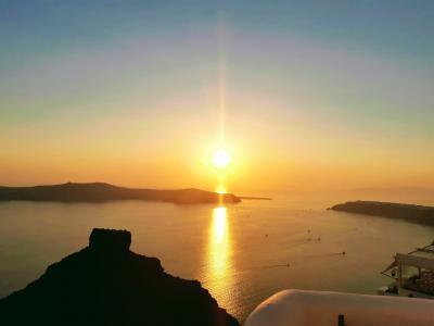 のんびりサントリーニ島~ミコノス島~アテネ①(成田~サントリーニ島編)