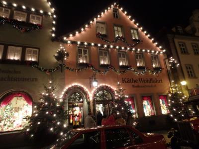 脱初心者海外旅行ドイツ クリスマスマーケットへ行く(笑)