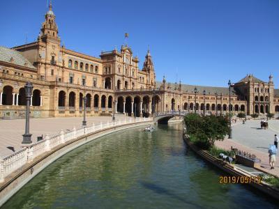スペイン・アンダルシア 花とシエスタの旅  3   セビージャ観光